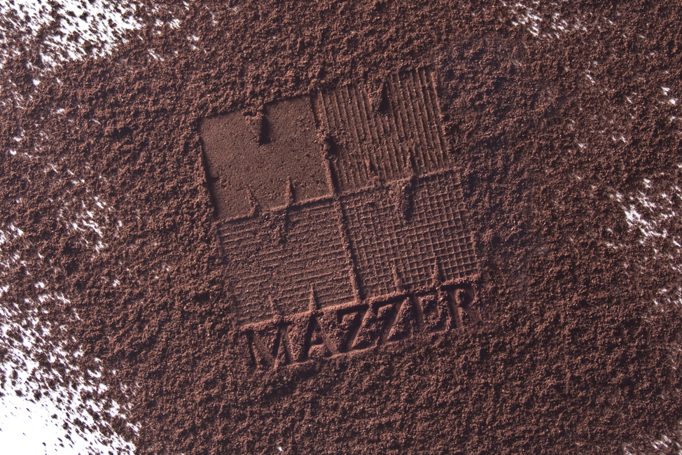Mazzer Stammped in Coffee Granules